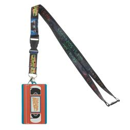 Back to the Future VHS Tape Lanyard