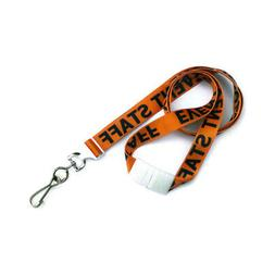 Event Staff 36 in. Flat Printed Lanyards