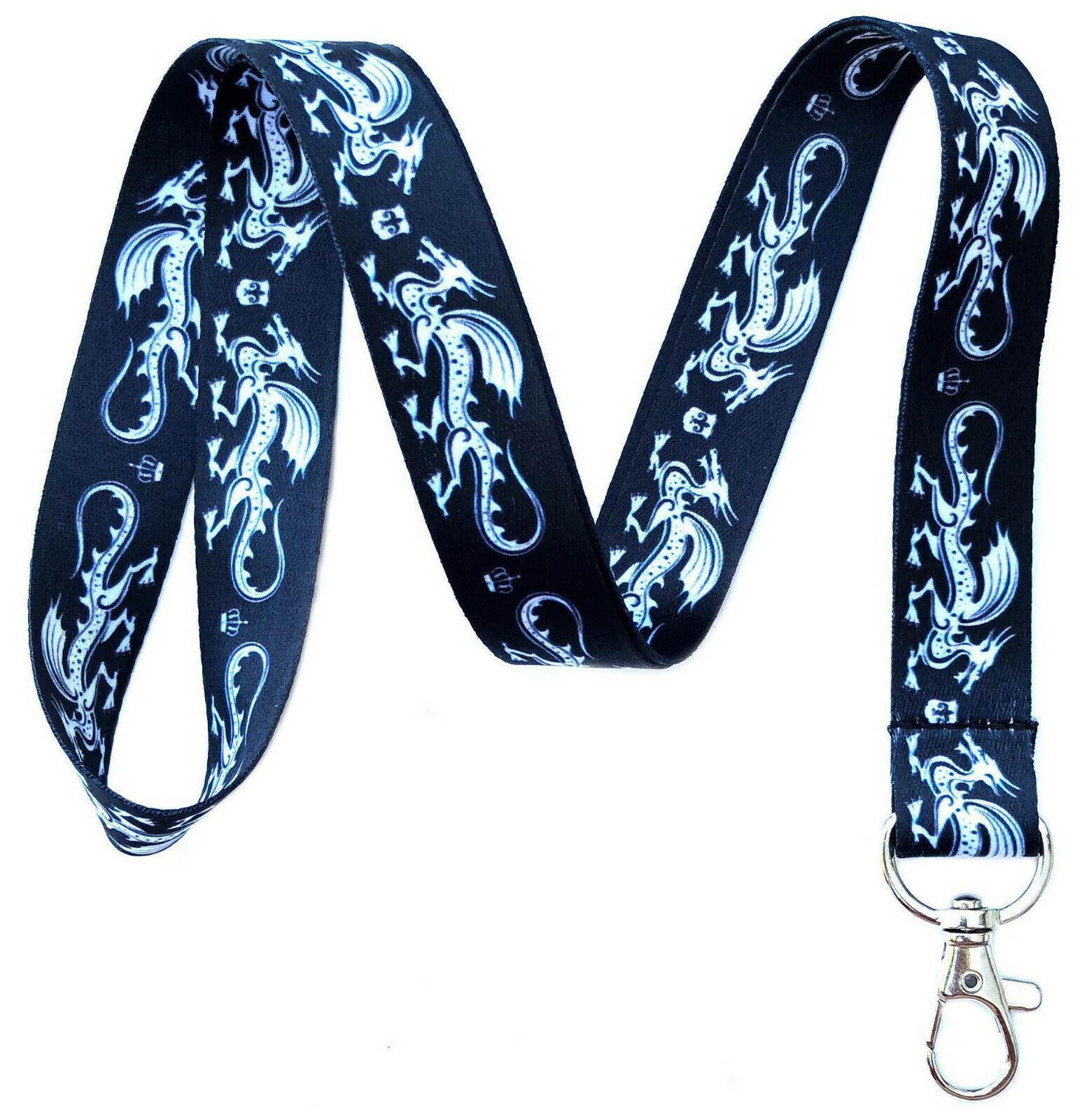 medieval themed lanyards id badge holders keychains