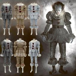 Movie It: Chapter Two Pennywise Cosplay Clown Halloween Cost