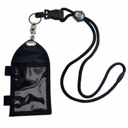 Specialist ID Nylon Badge Holder with Pen Loop Key Ring and